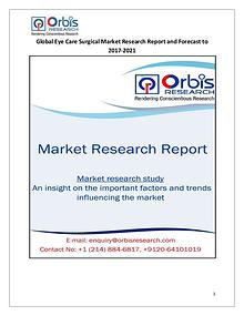 2017 Research Report : Global Eye Care Surgical Market