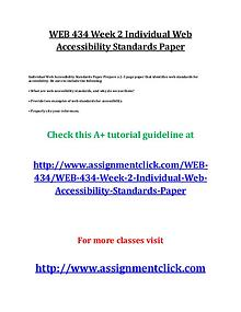 uop web 434 entire course
