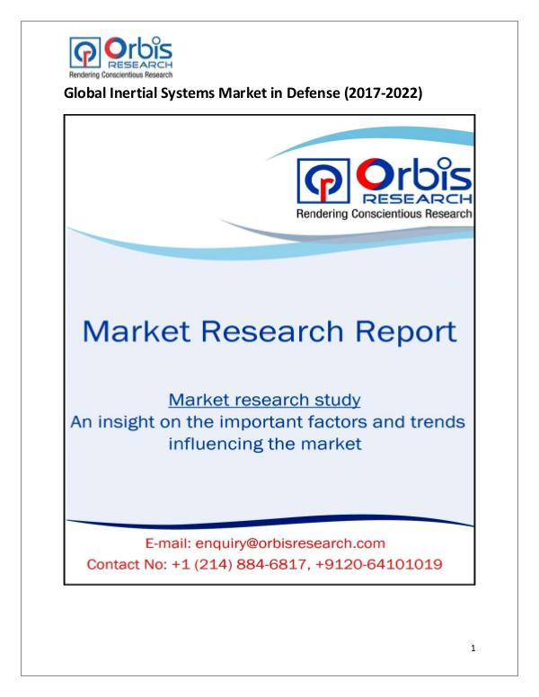 Research Report : Global Inertial Systems in Defense Market