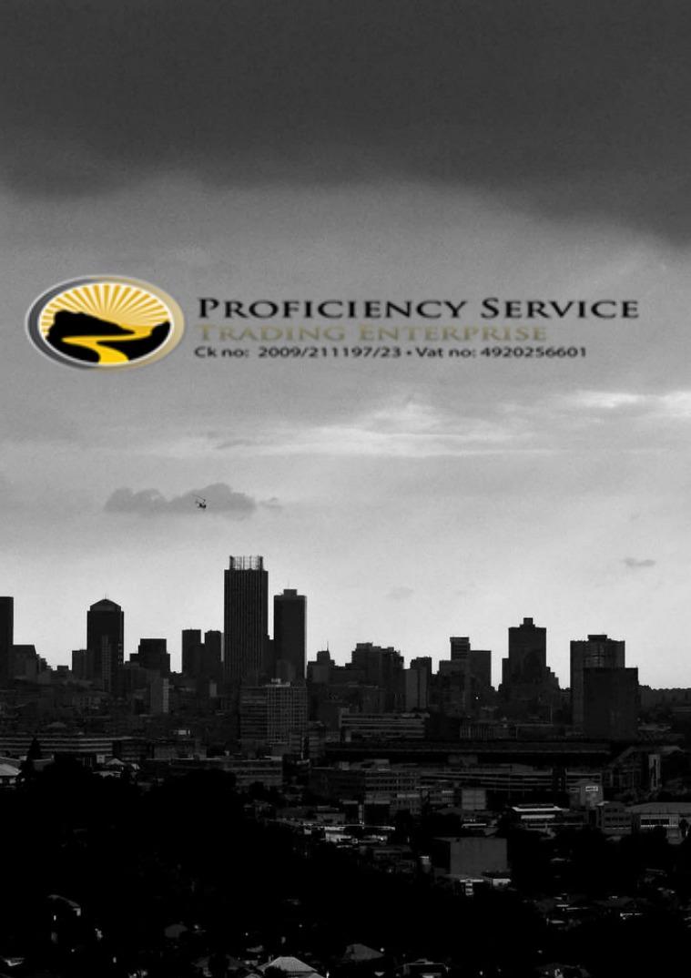 Proficiency Services Company Profile