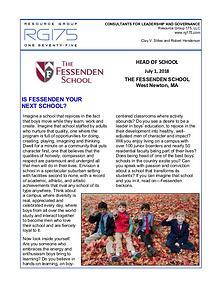 Fessenden School Search