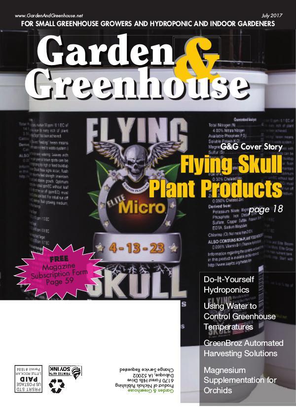 Garden & Greenhouse July 2017 Issue