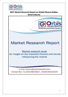 Global Silicone Rubber Sheet Market