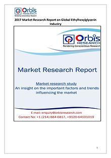 Global Ethylhexylglycerin Market 2017-2022 Forecast Research Study
