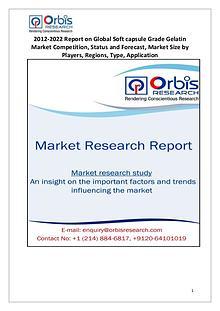 Global Soft capsule Grade Gelatin Industry Overview