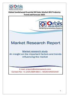 Global Sandalwood Essential Oil Sales Industry 2017 Market Research