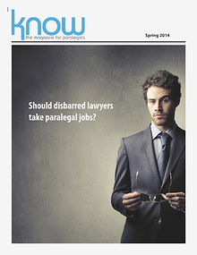 KNOW, the Magazine for Paralegals