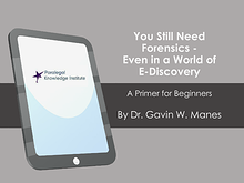 eBook - Forensics and the World of eDiscovery