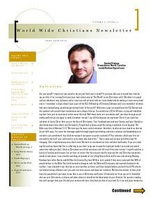World Wide Christians Magazine