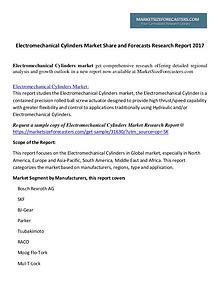 Electromechanical Cylinders Market