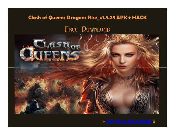 ⒶⓅⓀⒽⒶⒸⓀ › Clash of Queens Dragons Rise_v1.8.28 APK + HACK