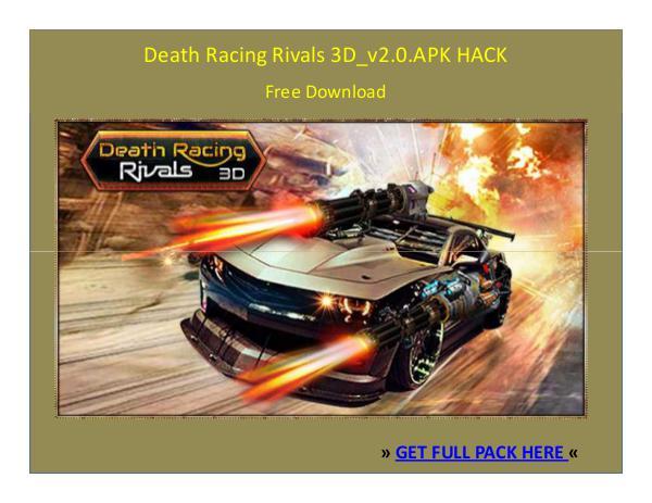 ⒶⓅⓀⒽⒶⒸⓀ › Death Racing Rivals 3D_v2.0.APK HACK FREE DOWNLOAD