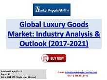 Global Luxury Goods Market Trends Industry Analysis and Forecast 2021