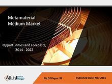 Metamaterial Medium Market to reach $1,387 million by 2022
