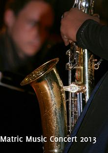Matric Music Concert 2013