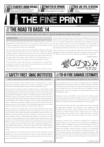 Issue Four, October 2014