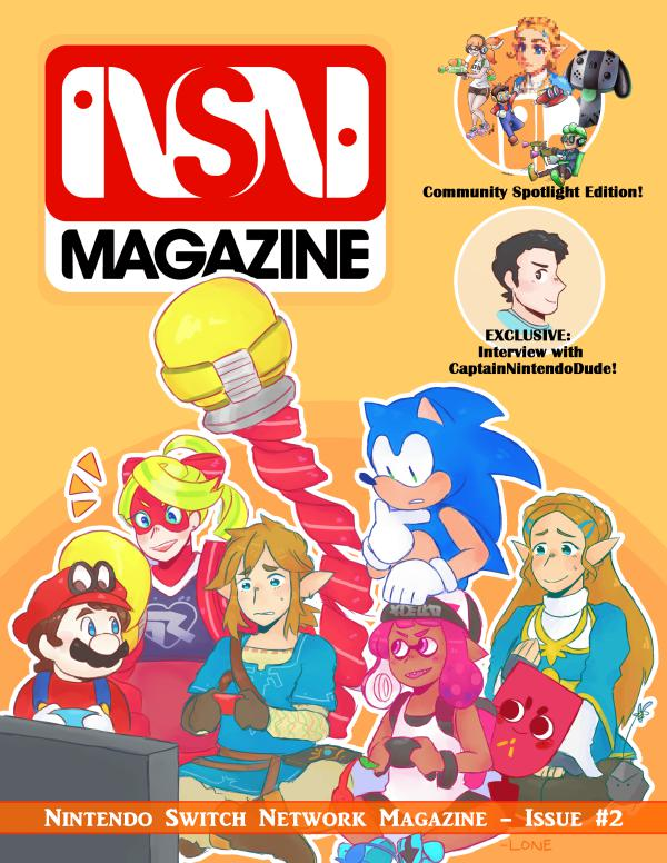 Nintendo Switch Network Magazine February 2017