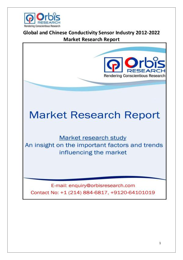 Market Report Study Conductivity Sensor Industry