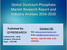 Dicalcium Phosphate Industry 2016 Growth