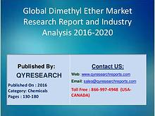 Global Dimethyl Ether Market 2016 Industry Growth, Research