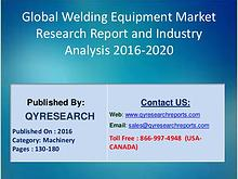Welding Equipment to Rise Owing to Development in Industry