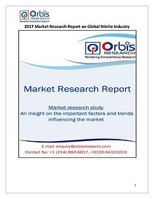 New Study: Global Nitrite Market Trend & Forecast Report