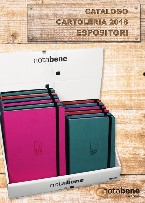 Cartoleria NB18 - ESPOSITORI Agende, Rubriche e Tematiche