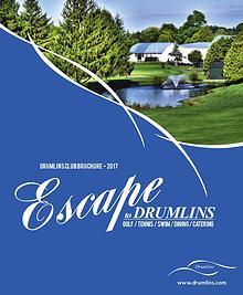 Drumlins Country Club Membership Brochure - 2017