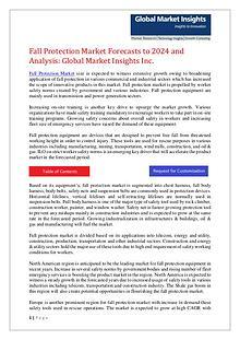 Fall Protection Market Analysis
