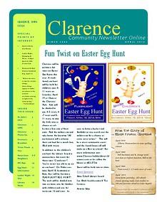 Clarence Cardinal Newlsetter