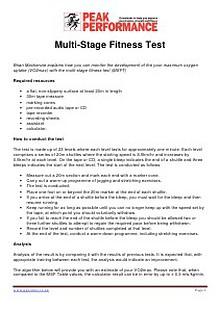 Multi-stage-fitness-test