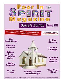 Poor In Spirit Magazine