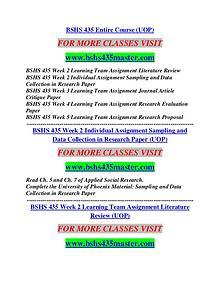 BSHS 435 MASTER Career Begins/bshs435master.com