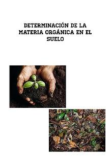 Determinación de Materia Orgánica en el Suelos