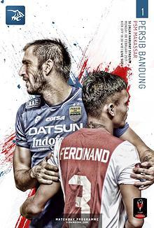 Matchday Programme PERSIB BANDUNG from SIMAMAUNG.COM