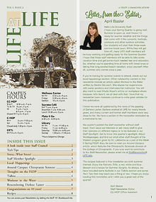 Life University Staff Council Newsletter