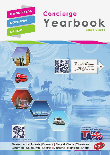 Essential London Guide Concierge Yearbook January 2014 v6