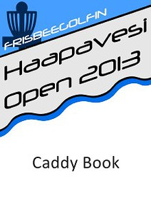 Haapavesi Open 2013 - Caddy Book