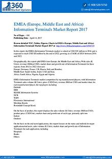 EMEA Information Terminals Market by Product Types, Application