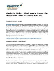 Bioadhesive Market Size, Share, Trends and Forecasts To 2024