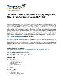 Soft Contact Lenses Market Growth and Forecasts To 2027