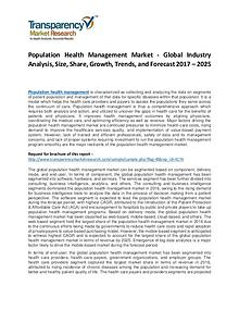 Population Health Management Market Growth, Trend  and Forecast