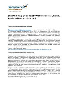 Global Email Market 2017 Analysis and Forecast to 2025
