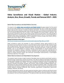 Video Surveillance and VSaaS Market 2017
