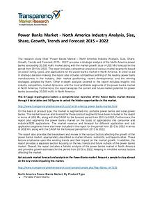 Power Banks Market Growth, Demand, Price and Forecasts To 2022