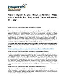 Application Specific Integrated Circuit Market Forecasts To 2022