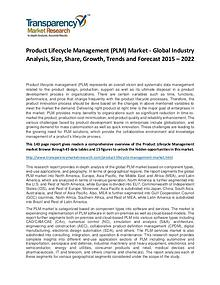 Product Lifecycle Management Market Growth and Forecast
