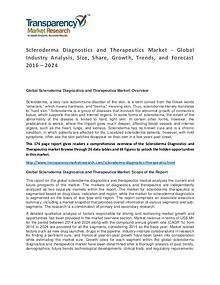 Scleroderma Diagnostics and Therapeutics Market