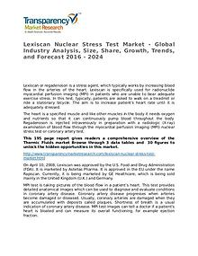Lexiscan Nuclear Stress Test Global Analysis & Forecast to 2024