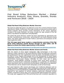 Flat Panel X-Ray Detectors Market Research Report and Forecast